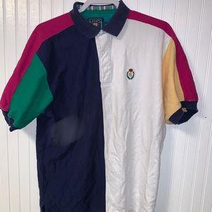 Vintage chaps Ralph Lauren multi colored polo